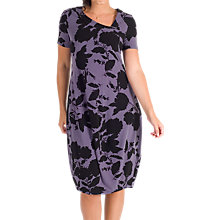 Buy Chesca Floral Print Dress, Hyacinth Online at johnlewis.com