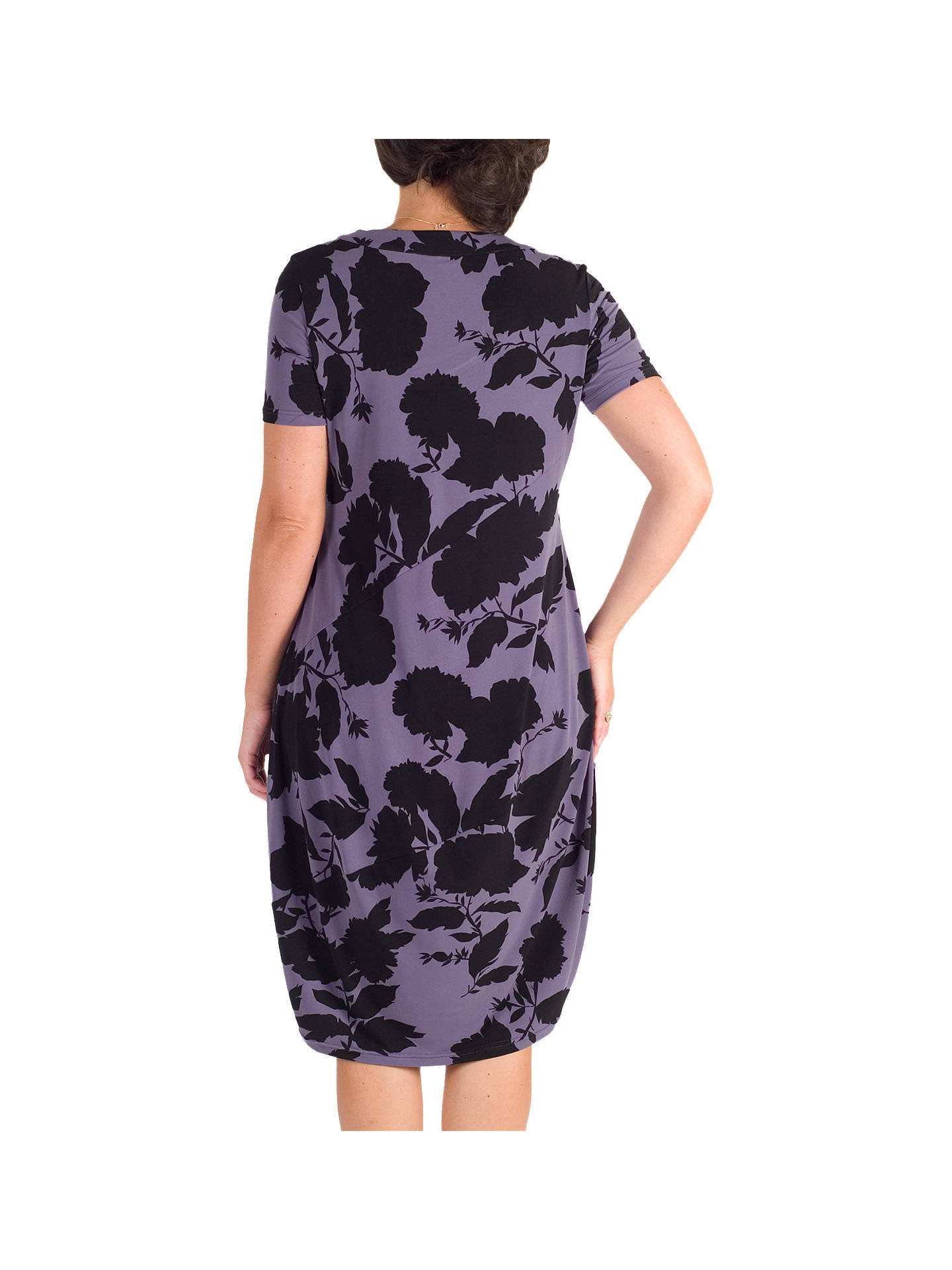 BuyChesca Floral Print Dress, Hyacinth, 12-14 Online at johnlewis.com