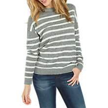 Buy Fat Face Salcombe Stripe Jumper Online at johnlewis.com