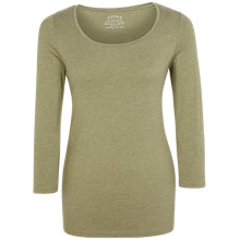 Buy Fat Face Laura Three Quarter Length Sleeve Cotton Blend T-Shirt Online at johnlewis.com