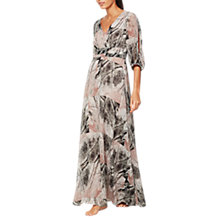Buy Mint Velvet Whisper Print Maxi Dress, Multi Online at johnlewis.com