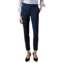 Buy Hobbs Iona Tailored Trousers, Lagoon Blue Online at johnlewis.com