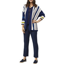 Buy East Merino Stripe Cardigan, Multi Online at johnlewis.com