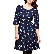 Buy Yumi Abstract Impression Print Dress, Navy/Multi Online at johnlewis.com