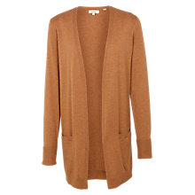 Buy Fat Face Edge to Edge Cardigan, Amber Online at johnlewis.com