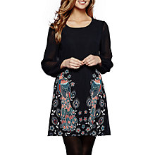 Buy Yumi Peacock Placement Tunic, Navy Online at johnlewis.com