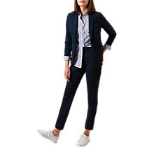 Buy Hobbs Iona Blazer Jacket, Lagoon Blue Online at johnlewis.com