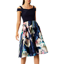Buy Coast Lily Jacquard Midi Dress, Multi Online at johnlewis.com
