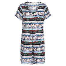 Buy Fat Face Clara Bloomsbury Striped Dress, Multi Online at johnlewis.com