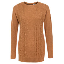 Buy Fat Face Charlotte Cable Knit Jumper Online at johnlewis.com