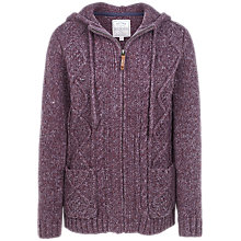 Buy Fat Face Alicia Knit Hoodie Online at johnlewis.com