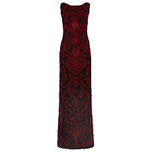 Buy Phase Eight Thandi Tapework Dress, Scarlet Online at johnlewis.com