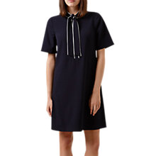 Buy Hobbs Sarah Dress, Navy/Ivory Online at johnlewis.com