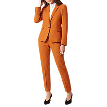 Buy Hobbs Odella Jacket, Pumpkin Orange Online at johnlewis.com