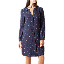 Buy Hobbs Marti Tunic Dress, Navy Online at johnlewis.com