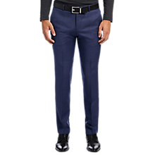 Buy HUGO by Hugo Boss C-Genesis Slim Fit Wool Trousers, Dark Blue Online at johnlewis.com