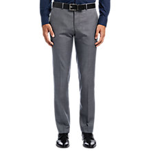 Buy HUGO by Hugo Boss C-Genesis Slim Fit Wool Trousers, Open Grey Online at johnlewis.com