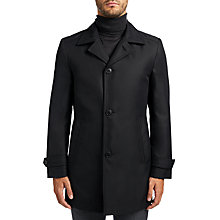 Buy HUGO by Hugo Boss Dais 8 Mac, Black Online at johnlewis.com