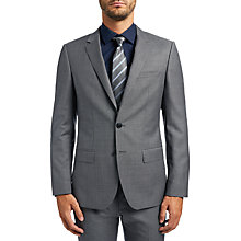 Buy HUGO by Hugo Boss C-Huge Slim Fit Suit Jacket, Open Grey Online at johnlewis.com