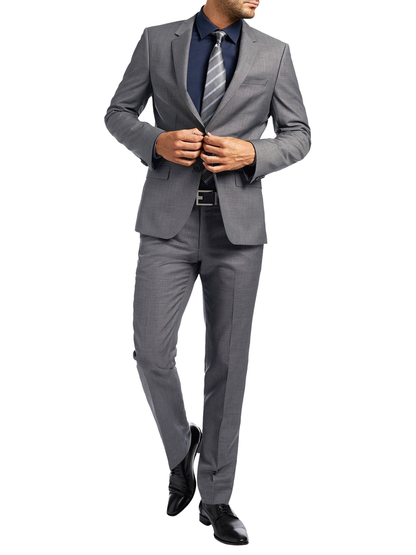 d47ae9303 ... Buy HUGO by Hugo Boss C-Huge Slim Fit Suit Jacket, Open Grey, ...