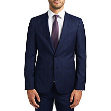 Buy HUGO by Hugo Boss C-Ryan C-Win Check Two Piece Suit, Navy Online at johnlewis.com