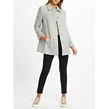Buy John Lewis Wool Blend A-Line Coat Online at johnlewis.com