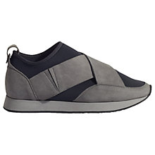 Buy Jigsaw Agne Crossover Trainers, Grey Online at johnlewis.com