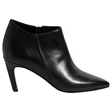 Buy Jigsaw Steena Pointed Toe Ankle Boots, Black Online at johnlewis.com