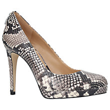Buy MICHAEL Michael Kors Antoinette Stiletto Heeled Court Shoes, Beige Online at johnlewis.com