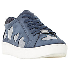Buy Dune Everlasting Lace Up Heart Trainers Online at johnlewis.com