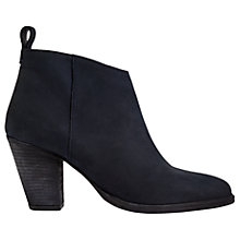 Buy Jigsaw Anneli Block Heeled Ankle Boots Online at johnlewis.com
