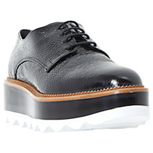 Buy Dune Black Flynne Flatform Brogues Online at johnlewis.com