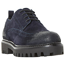 Buy Dune Black Folleyy Lace Up Brogues Online at johnlewis.com
