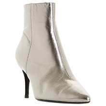 Buy Dune Osha Pointed Toe Ankle Boots, Pewter Online at johnlewis.com