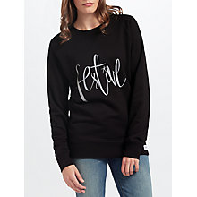 Buy Selfish Mother Festive Crew Neck Jumper Online at johnlewis.com
