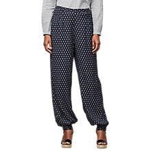 Buy East Jamila Harem Trousers, Ink Online at johnlewis.com