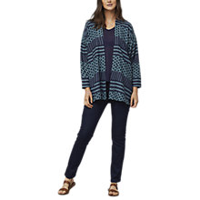 Buy East Astrid Print Kimono, Ink Online at johnlewis.com