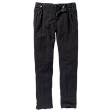 Buy Fat Face Hayling Tapered Trousers, Phantom Online at johnlewis.com