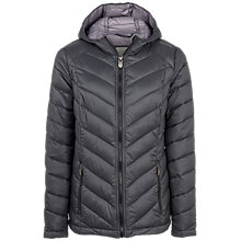 Buy Fat Face Lauren Lightweight Puffer Jacket, Phantom Online at johnlewis.com