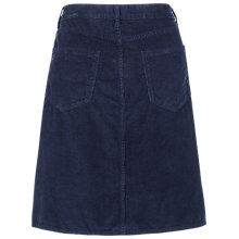 Buy Fat Face Darcy Cord A Line Skirt, Navy Online at johnlewis.com