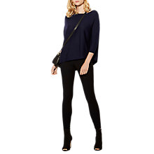 Buy Karen Millen Technical Legging, Black Online at johnlewis.com