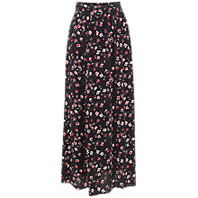 Buy Fat Face Keeley Poppy Meadow Maxi Skirt, Phantom Online at johnlewis.com