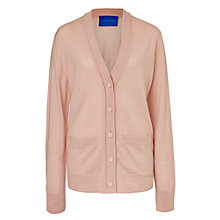 Buy Winser London Merino Wool Cardigan, Blush Online at johnlewis.com