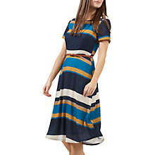 Buy Sugarhill Boutique Lyra Autumn Stripe Dress, Multi Online at johnlewis.com