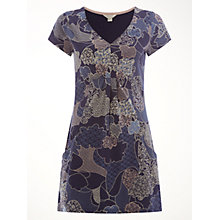 Buy White Stuff High Flyer Jersey Tunic, Navy Print Online at johnlewis.com