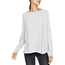 Buy Mint Velvet Blocked Curved Hem Knit, Multi Online at johnlewis.com