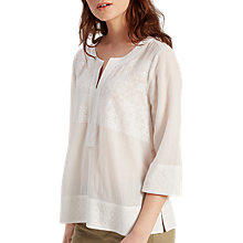 Buy White Stuff Libby Top, Almond Online at johnlewis.com