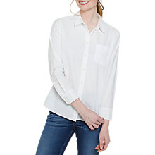 Buy Fat Face Olivia Shirt, White Online at johnlewis.com