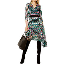Buy Karen Millen Pyramid Geo Dress, Multi Online at johnlewis.com