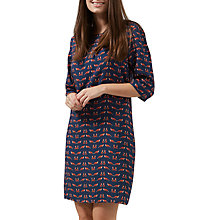 Buy Sugarhill Boutique Alison Foxy Tunic Dress, Navy/Multi Online at johnlewis.com